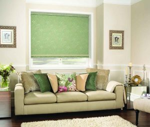 Green classic blinds