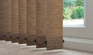 vertical blinds papyrus material