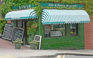 Fish and Poultry shop awnings