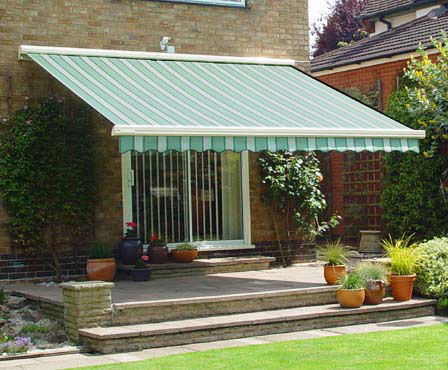 Attrayant Awning In A Garden