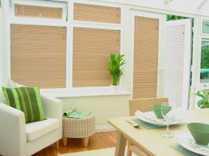 conservatories with blinds