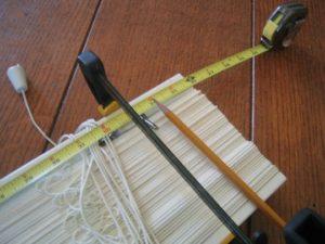 Altering a Wooden Venetian Blind